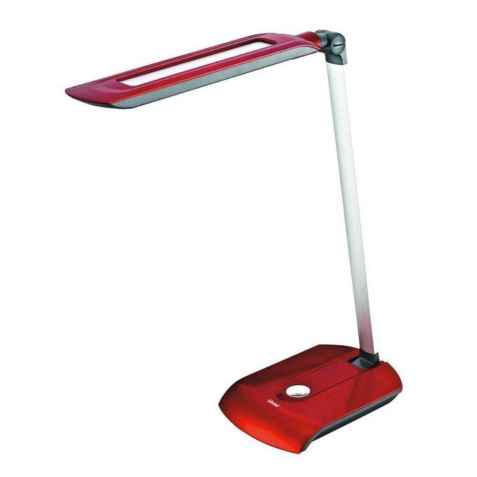 Настольная лампа красного цвета
