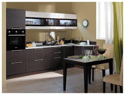 Набор мебели для кухни ТРИ Я «Латте», ларч светлый, ларч темный