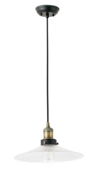 Подвесной светильник Faro Marlin с плафоном из белого стекла