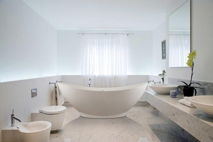 Каменная Ванна PureScape белая