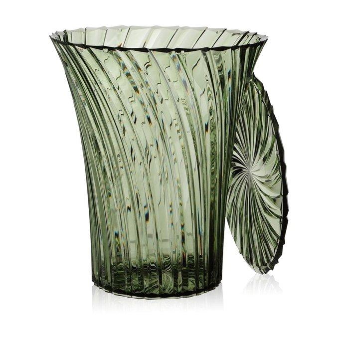 Табурет Sparkle зеленого цвета