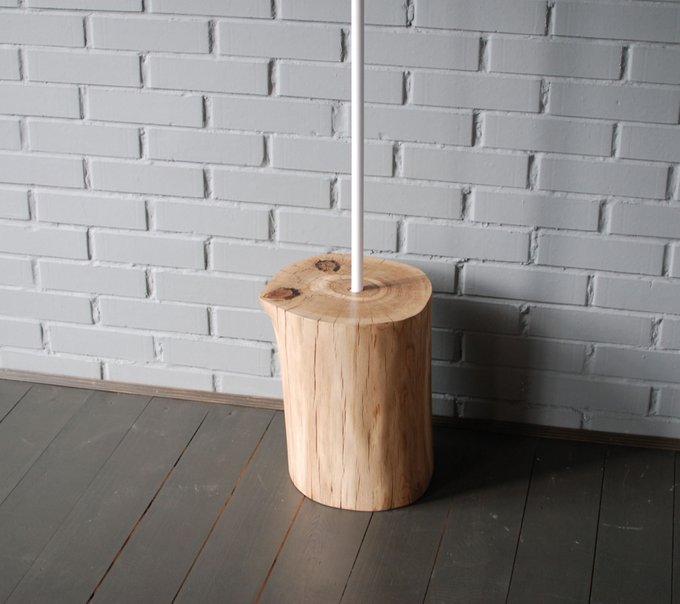 Напольная вешалка Vetvi из дубового пенька и металла