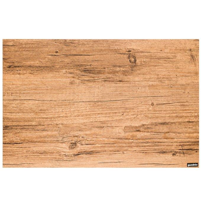 Коврик сервировочный Elm Shades коричневого цвета