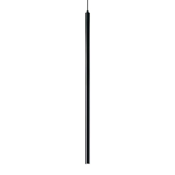 Подвесной светодиодный светильник Ideal Lux Ultrathin Nero