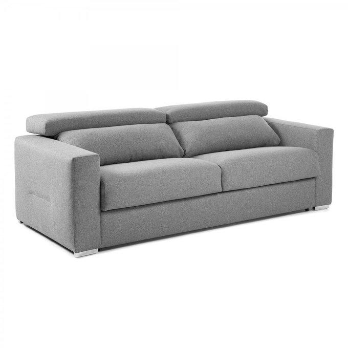 Диван-кровать Queen серого цвета