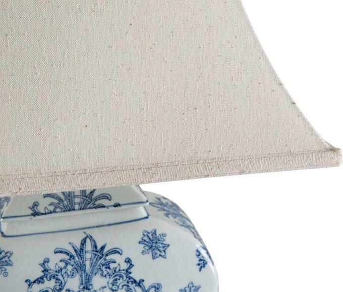 Лампа настольная с керамическим основанием