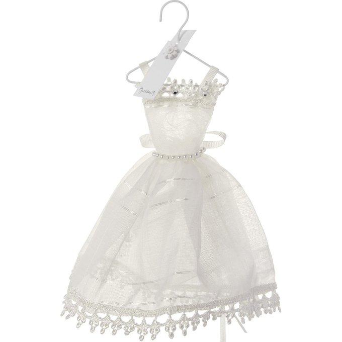 Декор Свадебное платье белого цвета