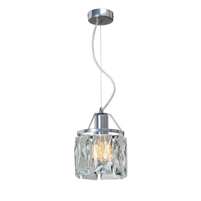 Подвесной светильник Eseniya  с  хрустальным плафоном