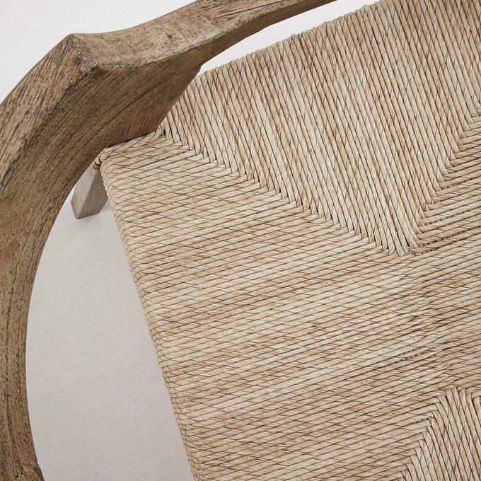 Кресло Kolman из тика и полиротанга