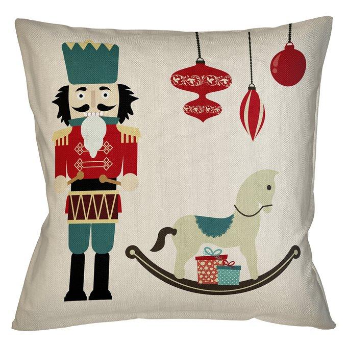 Декоративная арт подушка Новогоднее настроение версия 25