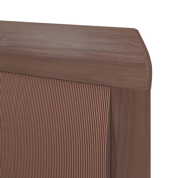 Кровать Магна 160х200 коричневого цвета