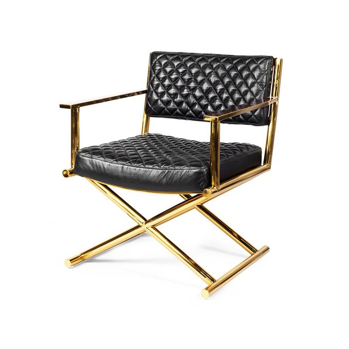 Кресло Celebrezze с обивкой из натуральной кожи