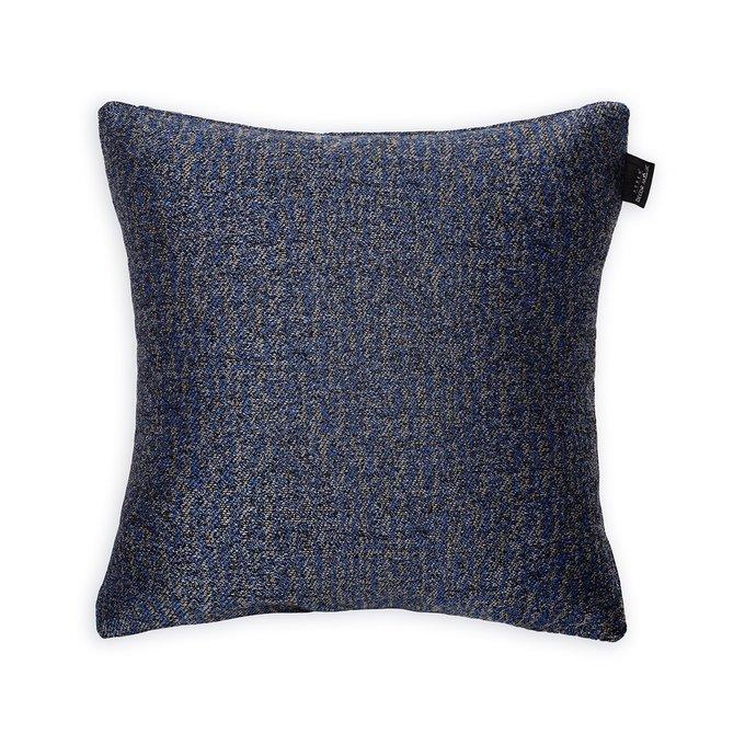 Декоративная подушка Milano Indigo синего цвета