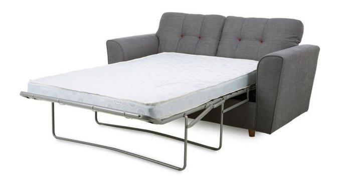 Трехместный раскладной диван Arden черный
