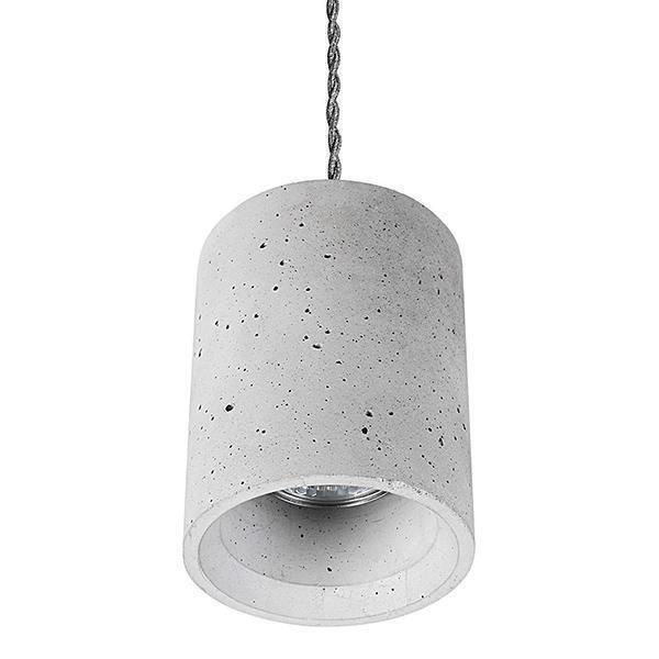 Подвесной светильник Shy серого цвета