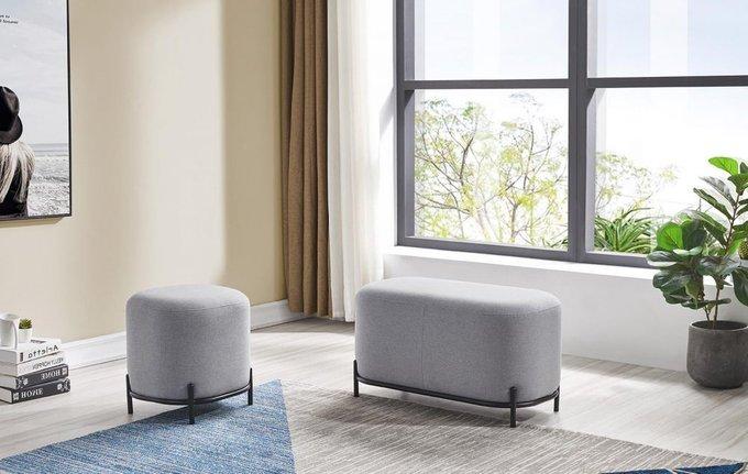 Пуф Sofa светло-серого цвета