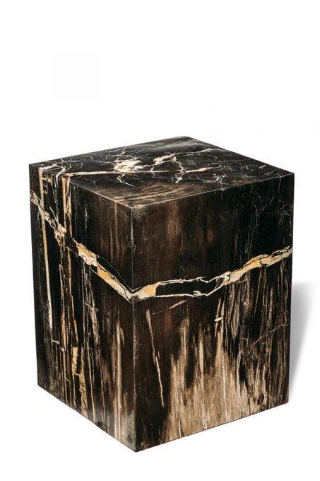 Декоративный пенек Джемур из окаменелого дерева 383394