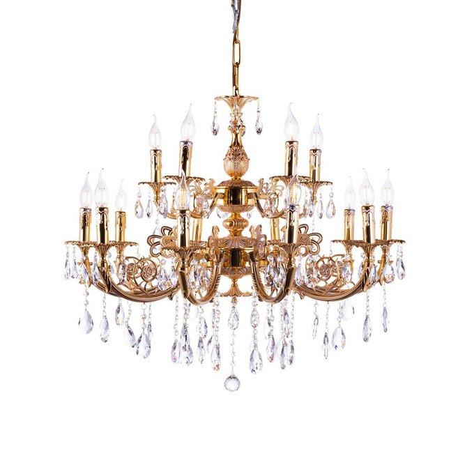 Подвесная люстра Luxuries с хрустальными подвесками