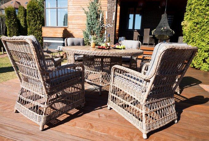 Садовая мебель из ротанга комплект Риальто