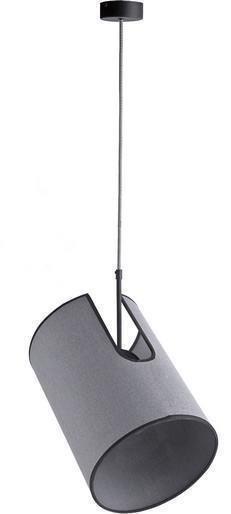 Подвесной светильник Zelda серого цвета