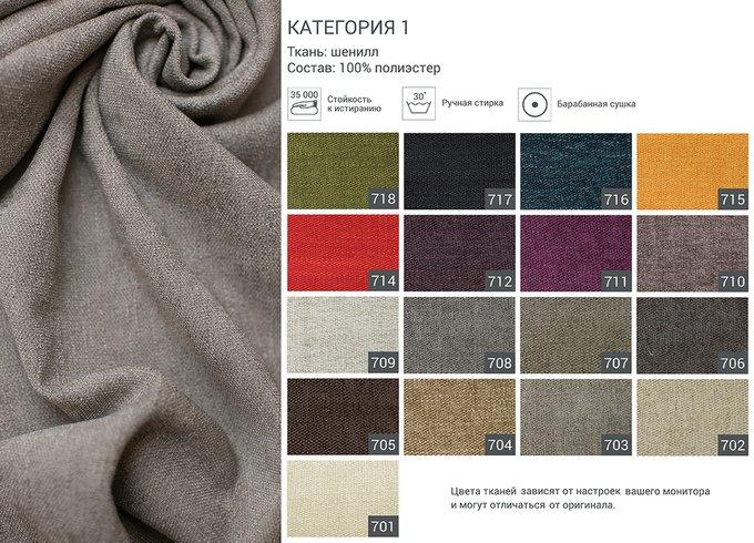Кровать Tulip серого цвета 160х200
