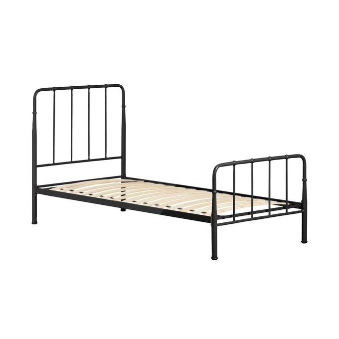 Кровать Naomy графитового цвета 90x190