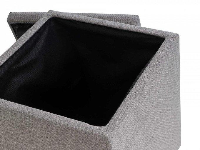 Пуф каркасный Craft1 серого цвета