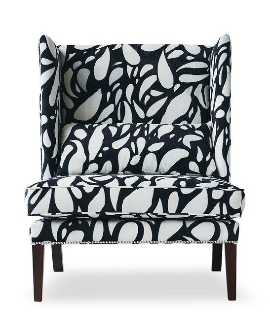 Кресло Zebra с каркасом и ножками из дуба