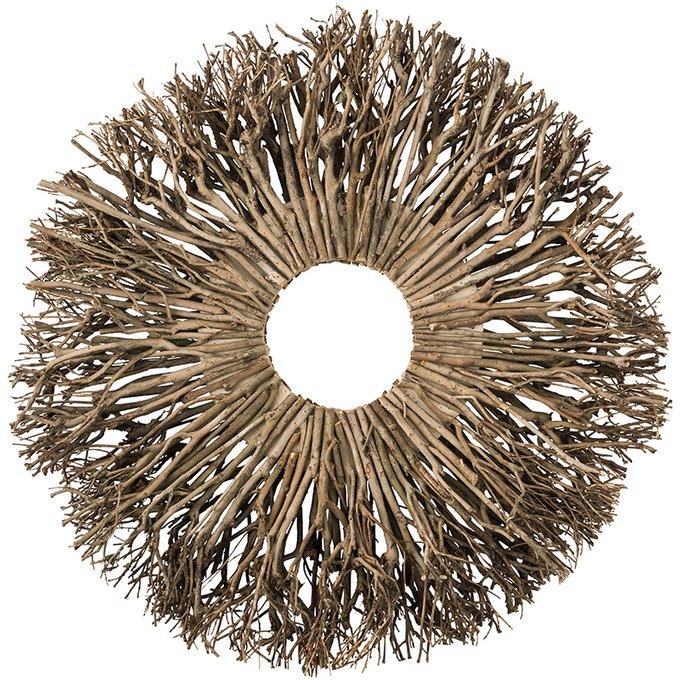 Настенный декор Mariella из дерева