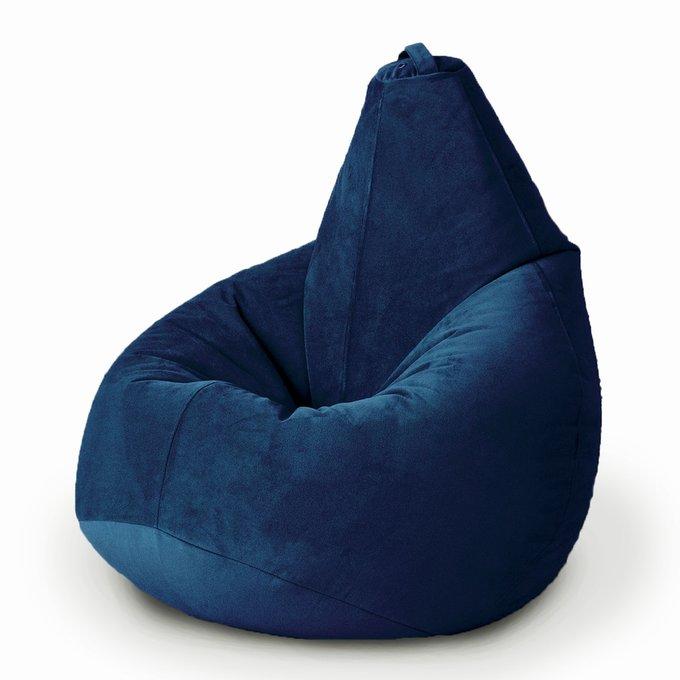 Кресло-мешок Груша Комфорт Сапфир кобальтово-синего цвета