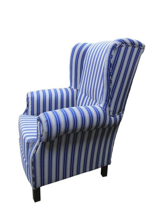Кресло сине-серого цвета