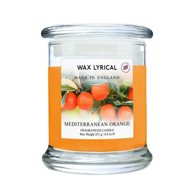 Ароматическая свеча Солнечный апельсин