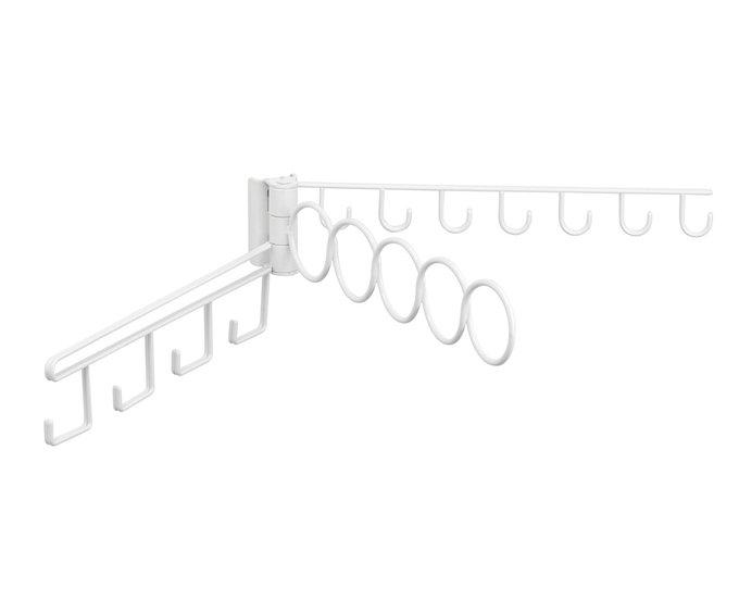 Вешалка Tru-grasp белого цвета