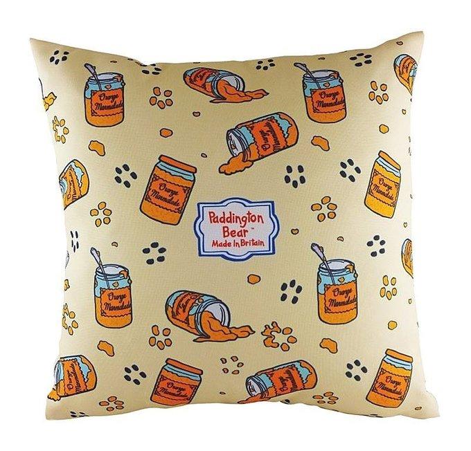 Подушка с принтом Paddington Marmalade