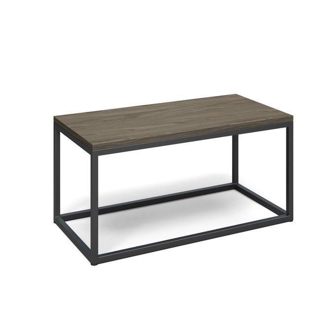 Журнальный стол Хобан серого цвета