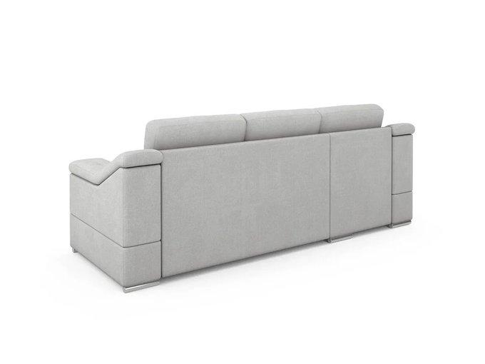 Угловой Диван-кровать Liverpool левый светло-серого цвета