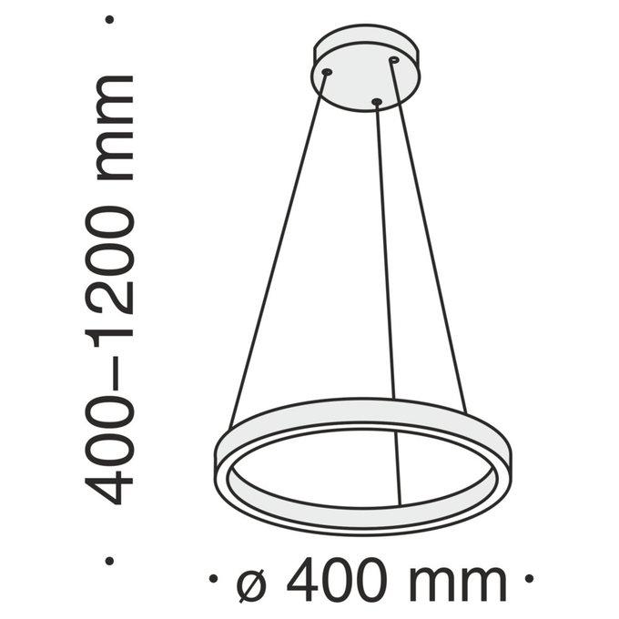 Подвесной светильник Rim черного цвета