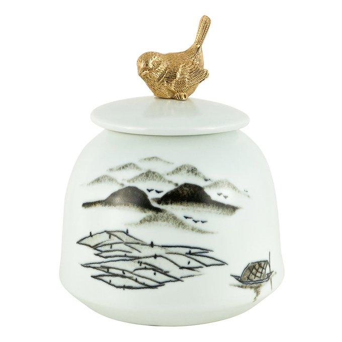 Ваза декоративная Северина из керамики