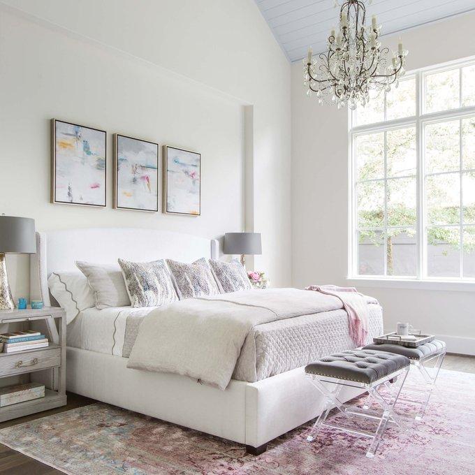 Кровать Astor белого цвета160х200
