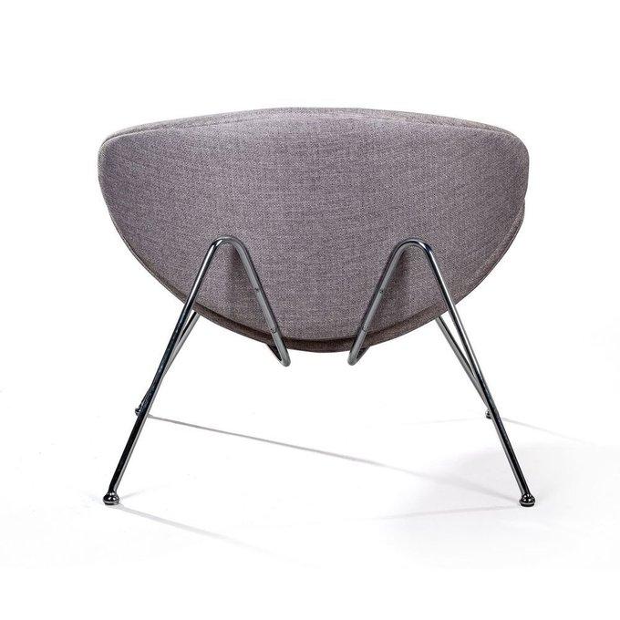 Лаунж кресло Slice серо-бежевого цвета