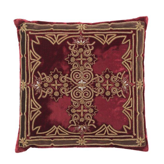 Подушка Bataille красного цвета