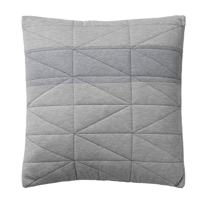 Декоративная подушка Diamond Grey серого цвета