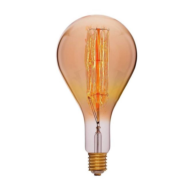 Лампа накаливания Колба золотая