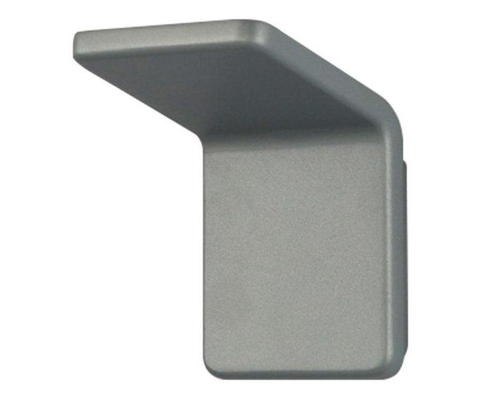 Бра Угол серебряного цвета