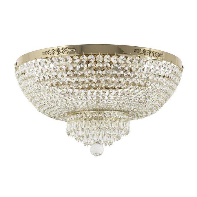 Потолочный светильник Asfour Lodi золотого цвета