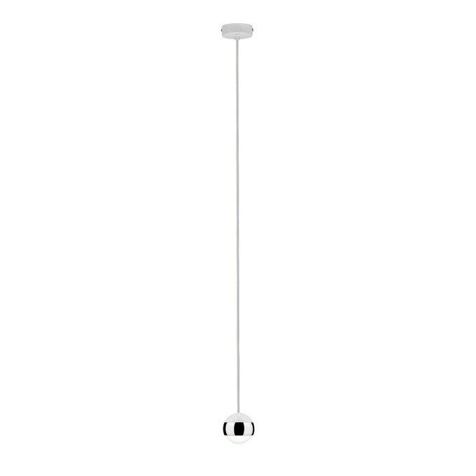 Подвесной светодиодный светильник Parana из металла и стекла