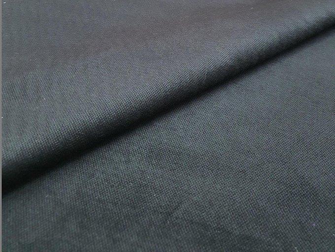 Угловой диван-кровать Валенсия черного цвета