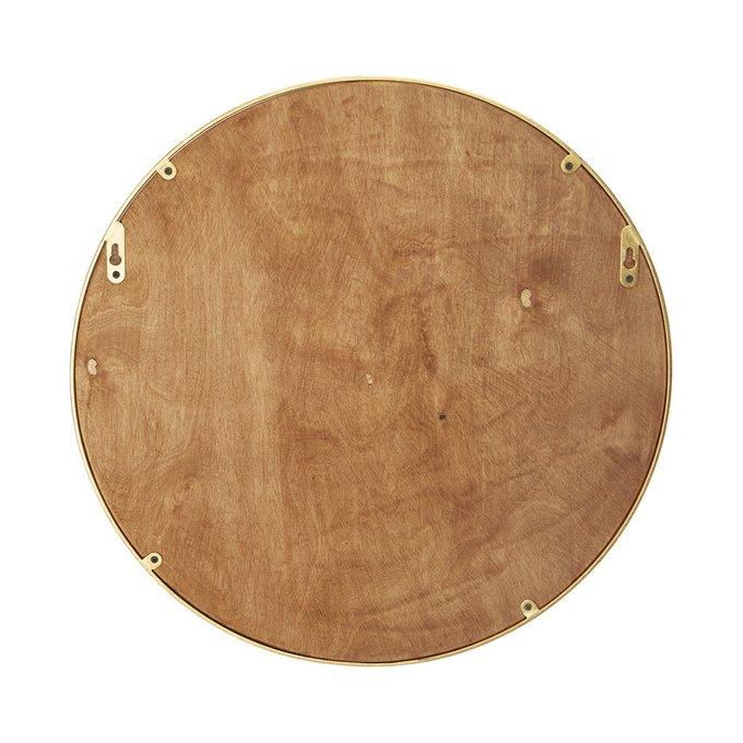 Зеркало настенное Орбита М в золотой раме