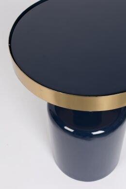 Приставной столик  Glam синего цвета