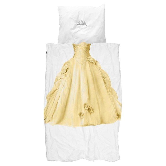 Комплект постельного белья Принцесса желтый 150х200